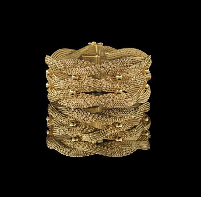 18 Kt. Gold Bracelet