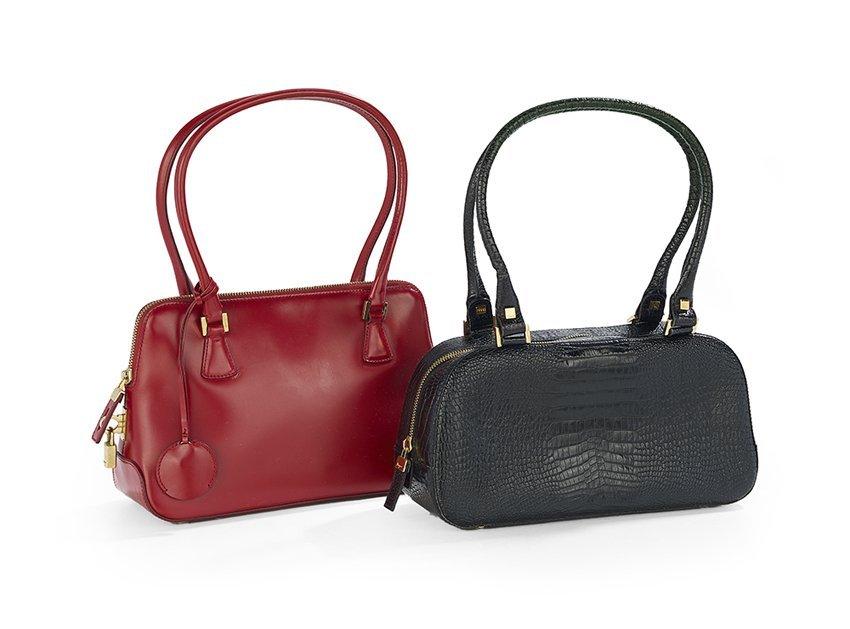 Two Salvatore Ferragamo Shoulder Bags