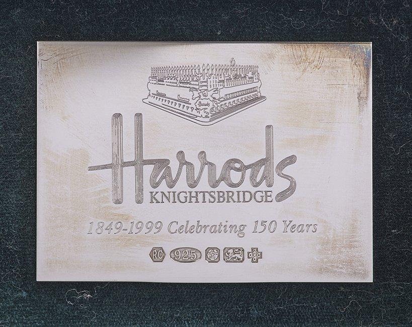 "150 Pc. Silver ""King's"" Pattern Flatware Set - 3"