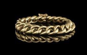 Gentleman's 14 Kt. Yellow Gold Bracelet