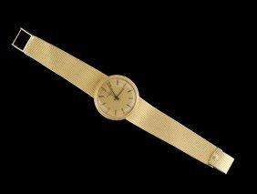 Men's Patek-Philippe Gold Calatrava Wristwatch
