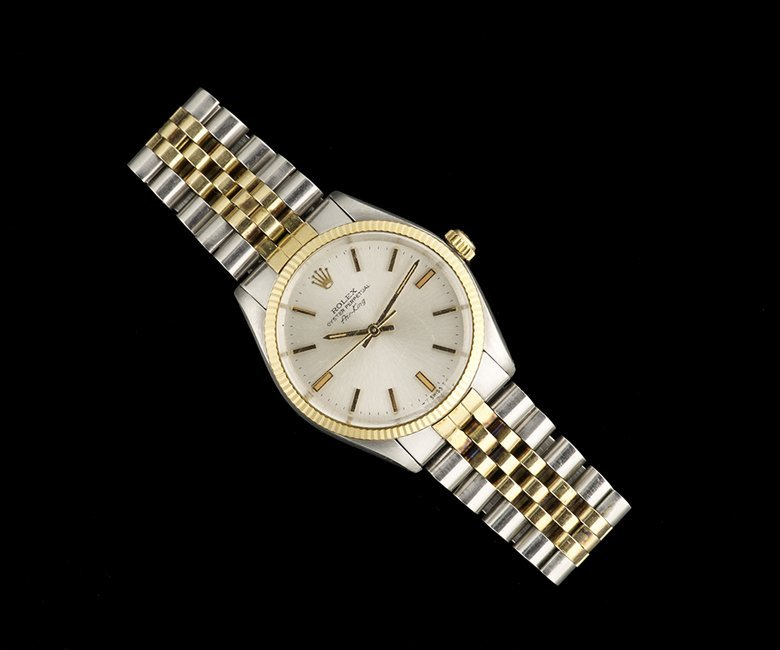 Men's Rolex 14 Kt. Gold/Steel Air King Wristwatch