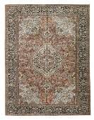 SemiAntique Tabriz Silk Carpet