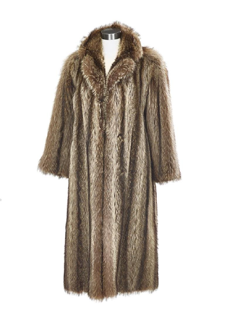 Vintage Raccoon Coat