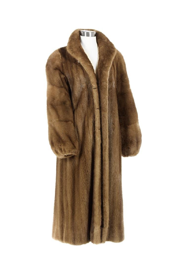 Chestnut Mink Coat