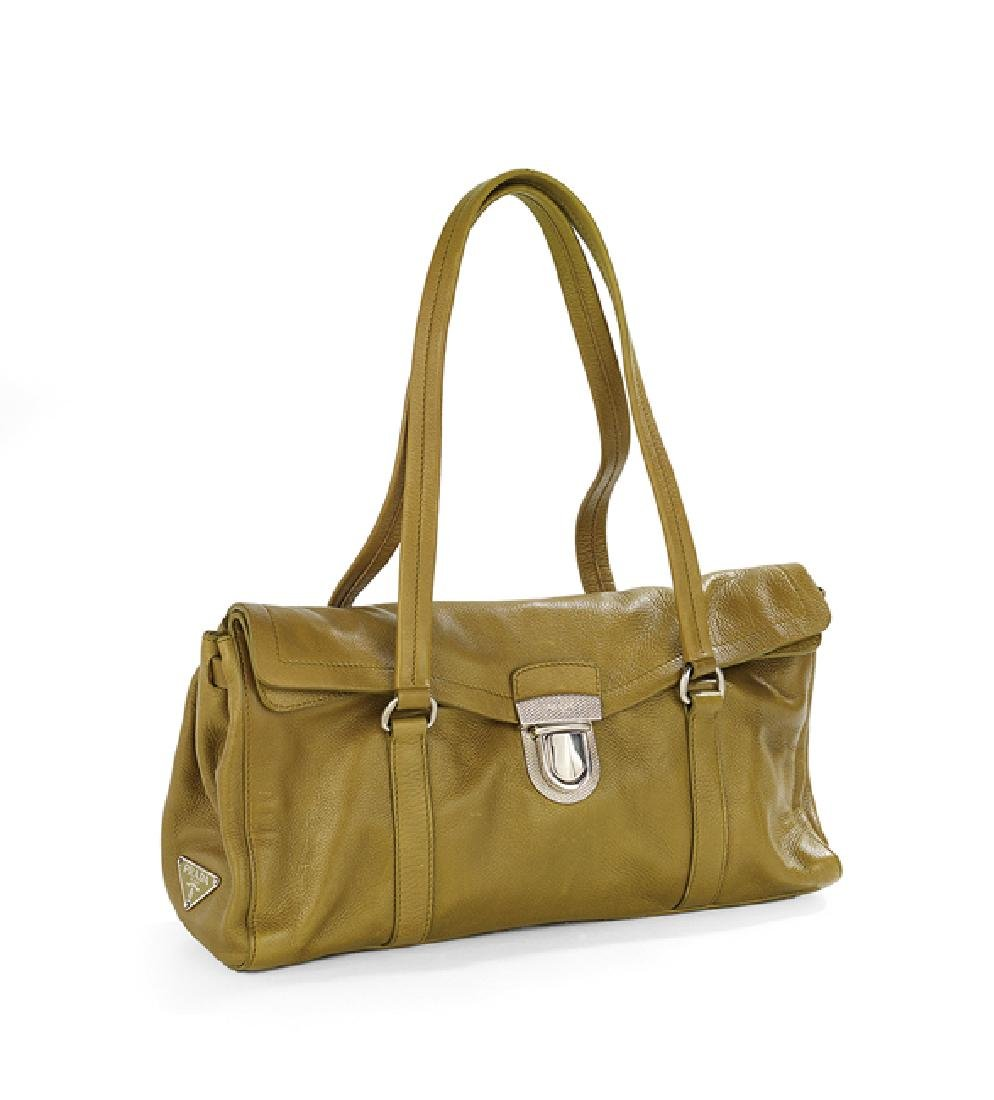 "Prada Olive Green Cervo ""Easy Bag"""