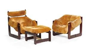 Three-Piece Suite of Percival Lafer Furniture