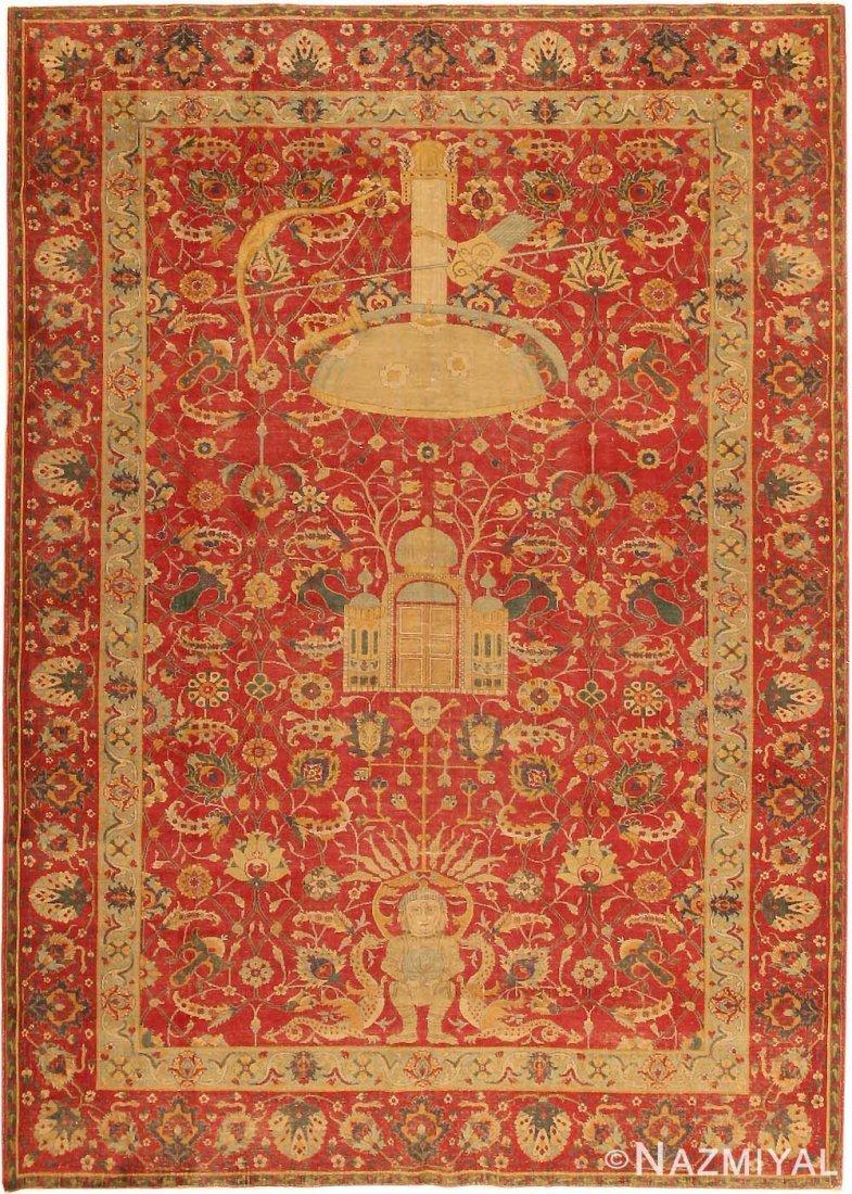 Antique Turkish Tuduc carpet , Size 6