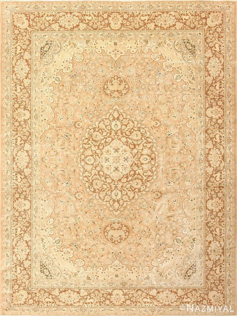 "Vintage Persian Tabriz , Size 8'4' x 11'3"""