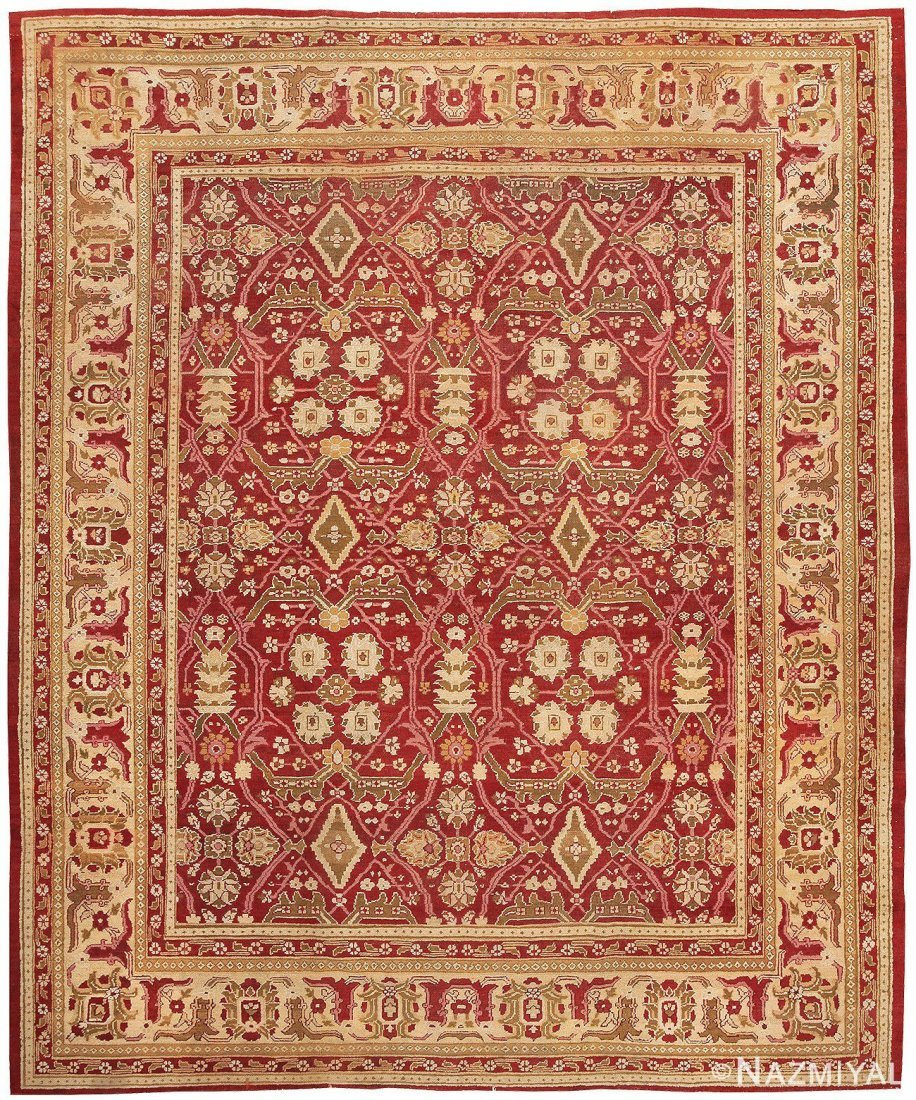 "Antique Indian Amritsar , Size 9'2"" x 11'9"""
