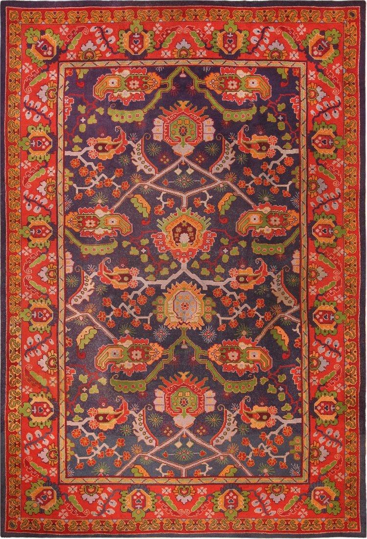 Antique Irish Donegal carpet , size 11