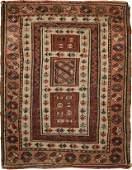 """Antique Turkish Milas rug , Size 1'8"""" x 2'"""