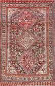 Antique Persian Afshar rug  Size 48 x 75