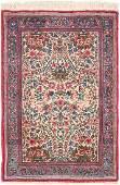 "Antique Persian Kerman , Size  2' x 2'11"""