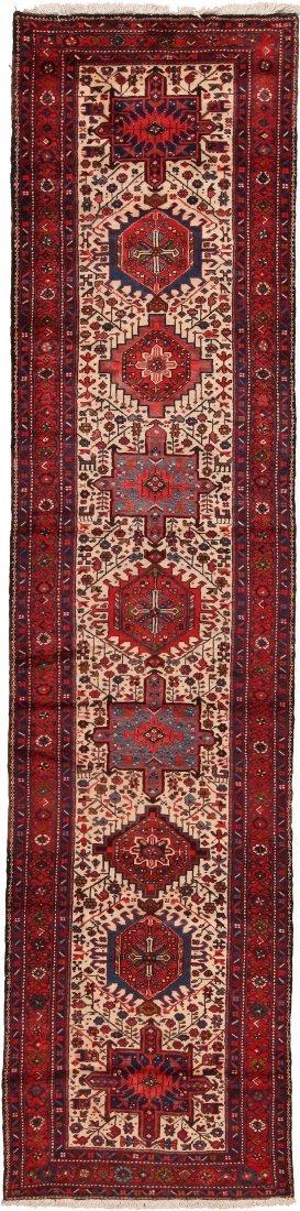 "Vintage Persian Karajeh  , Size 3'7"" x 14'5"""