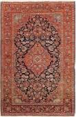 Antique Persian Kashan Size 45 X 69