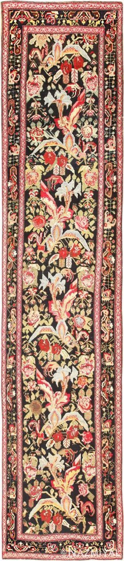 "Antique Caucasian Karabagh runner, Size 3'4"" X 13'5"""