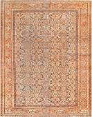 """Antique Persian Sultanabad , Size 10'6"""" x 13'"""