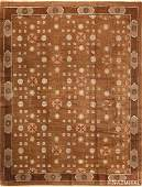 Antique Mongolian rug Size 810 X 118