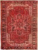 "Vintage Persian Heriz, Size 9'5"" X 12'7"""