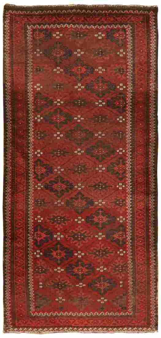 Antique Persian Balouch , 2 ft 6 in x 5 ft 3 in