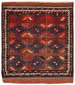 Antique Persian Balouch , 1 ft 7 in x 1 ft 8 in