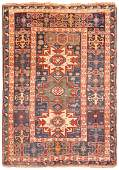 Antique Caucasian Shirvan Lesghi star 3ft 8in x 5ft 1in