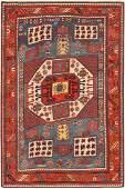 Antique Caucasian Karachopt Kazak, 4ft 9in x 7ft 2in