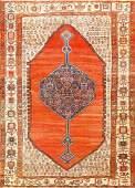 Antique Persian Bakhshaish carpet 9 ft 5in x 12 ft 8in