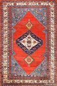 Antique Persian Bakshaish carpet, 9 ft 8in x 14 ft 3in