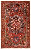 Antique Persian Heriz carpet 9 ft 4 in x 15 ft 3 in