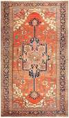 Antique Persian Heriz carpet 11 ft x 18 ft 10 in