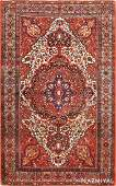 Antique Persian Sarouk Farahan 4 ft x 6 ft 5 in