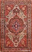 Antique Persian Sarouk Farahan, 4 ft x 6 ft 5 in