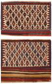 Pair of Antique Persian Bag face Kilim