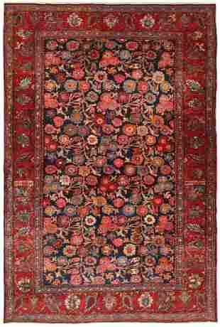 Antique Persian Bidjar Rug, 4 ft 6 in x 6 ft 9 in
