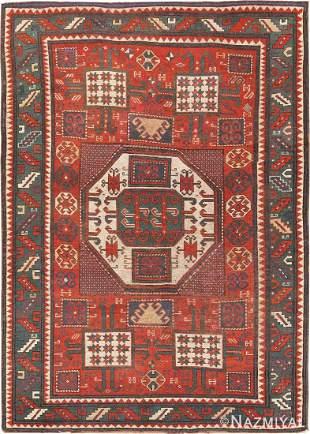 Antique Caucasian Karachopt Kazak rug 5ft 6in x 7ft 5in