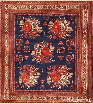 Antique Persian Afshar rug , 5 ft 2 in x 5 ft 8 in