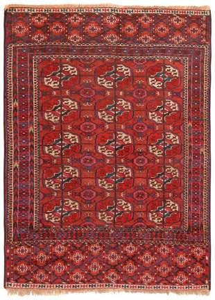 Antique Tekke rug Turkmenistan 2 ft 11 in x 3 ft 11