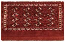 Antique Turkeman Yomud rug Turkmenistan 206 x 309