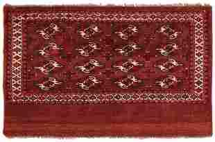 Antique Turkeman Yomud rug Turkmenistan 2.06 x 3.09