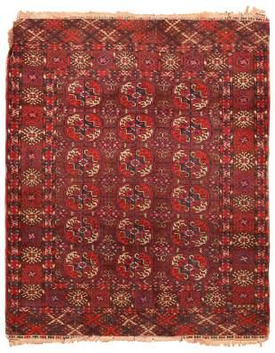 Vintage Tekke rug , Turkmenistan 3 ft 3 in x 4 ft