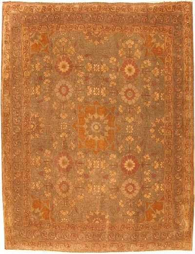2: Antique Tabriz Persian Rug /  Carpet 42385