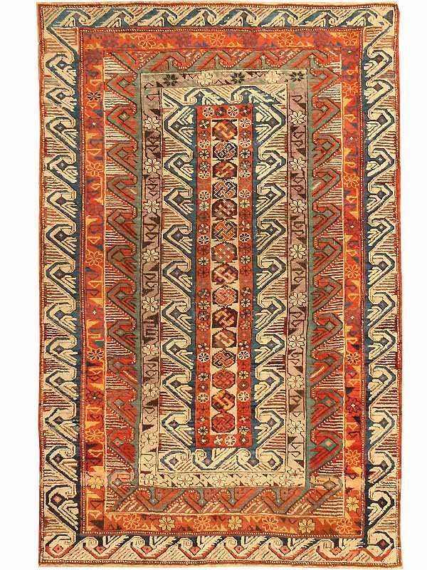 4: Antique Seychour Rug / Carpet 42609