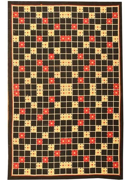 7: Antique Deco Rug / Carpet 2700