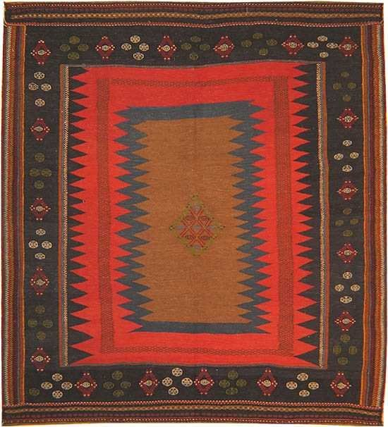 8: Antique Kilim Persian Carpet / Rug 42238