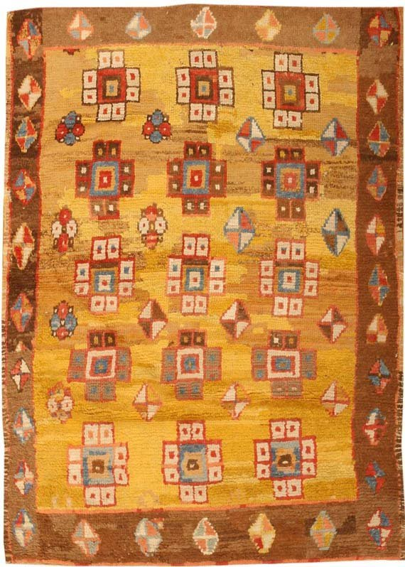 10: Antique Konya Village Rug / Carpet 3093