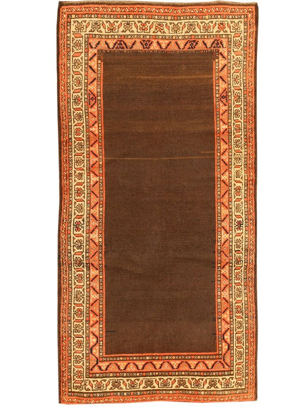 13: Antique Hamedan Persian Rug / Carpet 2617