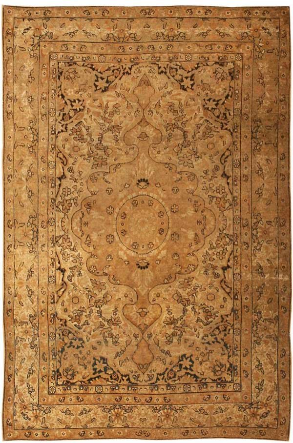 16: Antique Kerman Persian Rug / Carpet 40891