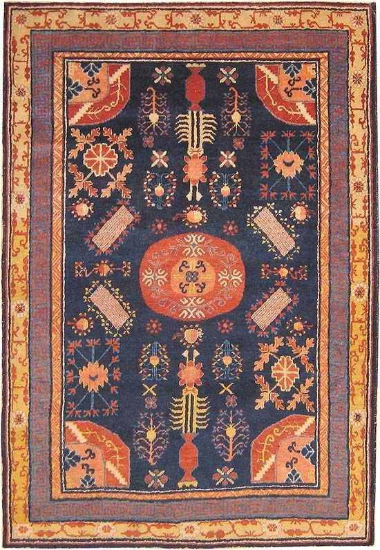 18: Antique Khotan from East Turkestan 41840